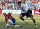 Javier Pastore sufre lesión muscular y no estará ante Chile
