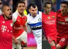 Los 5 chilenos que luchan por el título y estar en Champions