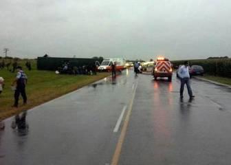 Tres remeras chilenas fallecen en un accidente en Argentina