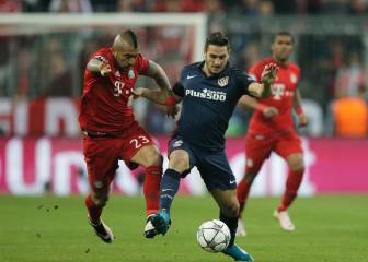 Vidal igualó récord de Alexis Sánchez en Champions