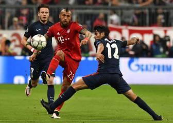 Vidal aparece en el equipo ideal pese a la eliminación