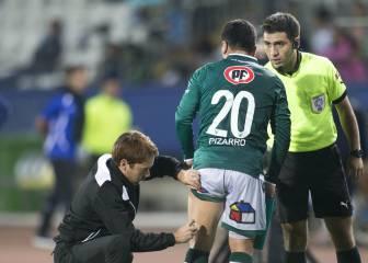 Pizarro sufre un desgarro y de nuevo es baja en Wanderers
