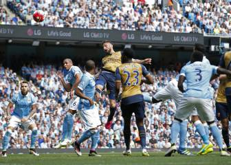 Manchester City 2-2 Arsenal: goles, crónica y resumen