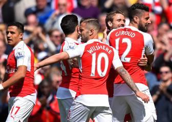 Alexis y Giroud lideran triunfo de Arsenal que quedó segundo