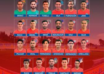 Puch y Pulgar, novedades de la Roja para Copa Centenario