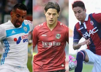 Los 10 futbolistas chilenos con futuro incierto en Europa