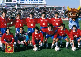 Las camisetas usadas por Chile en Copa América