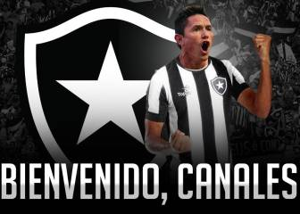 Canales es oficializado como nuevo refuerzo de Botafogo