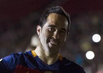 Claudio Bravo es tentado por la Serie A y la Premier League