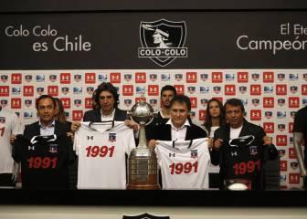 Colo Colo lanza camiseta conmemorativa