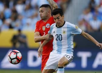 Argentina 2 - Chile 1: resumen, crónica, ficha e imágenes