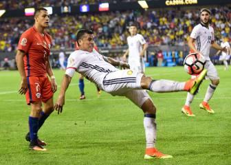 Chile 2 - Colombia 0: resumen, crónica, ficha e imágenes