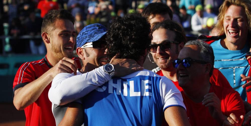 Santiago Giraldo se retiró y Colombia perdió ante Chile — Copa Davis