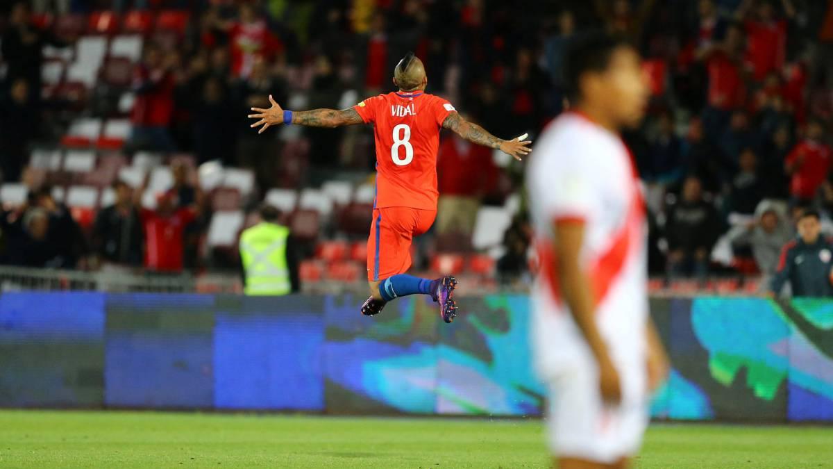 Chile - Perú (2-1)  resultado 7fb4cb50f7e