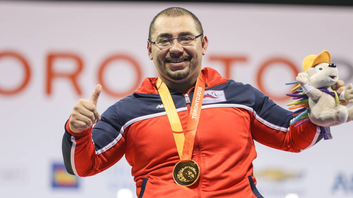 Juan Carlos Garrido ganó el Premio Nacional del Deporte 2015