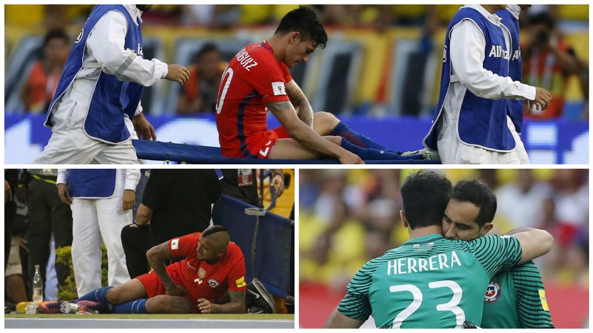Colombia y Chile igualaron 0-0 en Barranquilla