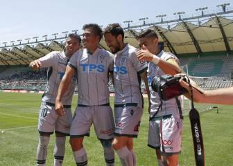 Parraguez brilla con triplete en victoria de Wanderers