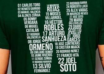 Lanzan camiseta que recuerda el último título de Wanderers