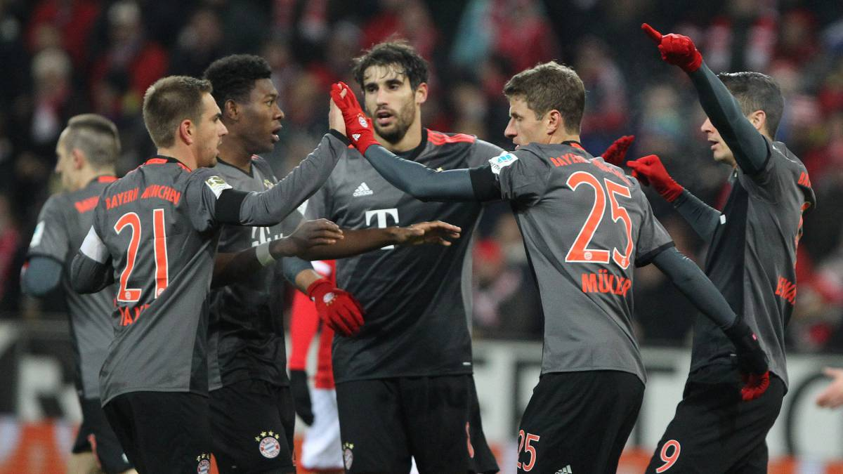 Jhon Córdoba anotó con el Mainz ante el Bayern Múnich