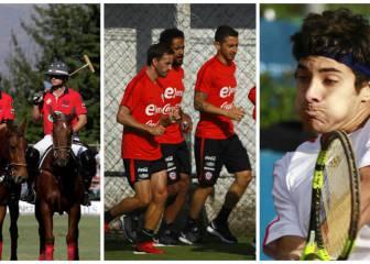 Los 10 desafíos deportivos para los chilenos en 2017