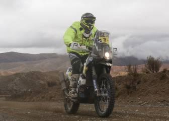 Quintanilla se pierde en la ruta y cede el liderato en el Dakar