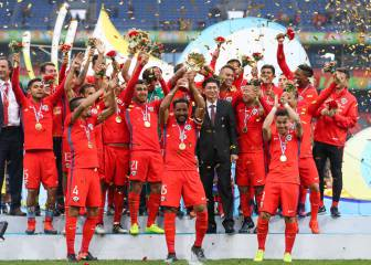 Así celebró la Roja el título de la China Cup