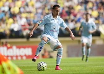 Fabián Orellana no entrena en Celta por decisión de Berizzo