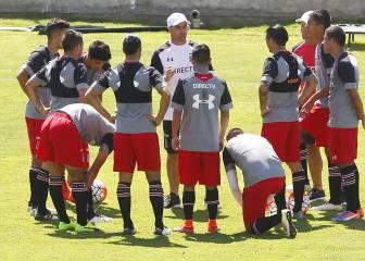 Con joven formación, Colo Colo goleó a San Antonio Unido
