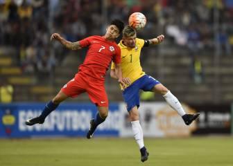 Las mejores imágenes del debut de Chile en el Sudamericano