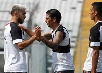 Morales debutó y anotó en nuevo amistoso de Colo Colo