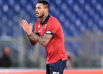 Mauricio Pinilla no pudo evitar magro empate de Genoa