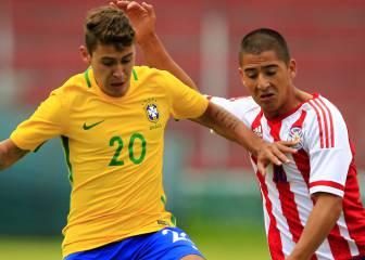 Brasil superó a Paraguay y sigue puntero en el Grupo A
