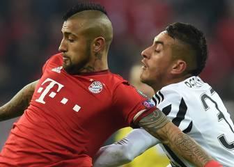 Vidal se resiente y peligra su duelo ante Alexis en Champions