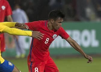 Gabriel Suazo presenta problemas físicos en la Sub 20