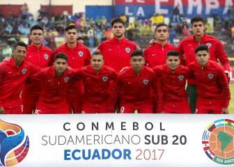Chile vs Paraguay en vivo y en directo online: Sudamericano Sub 20