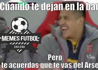 Los memes que se burlan de Arsenal y la suplencia de Alexis