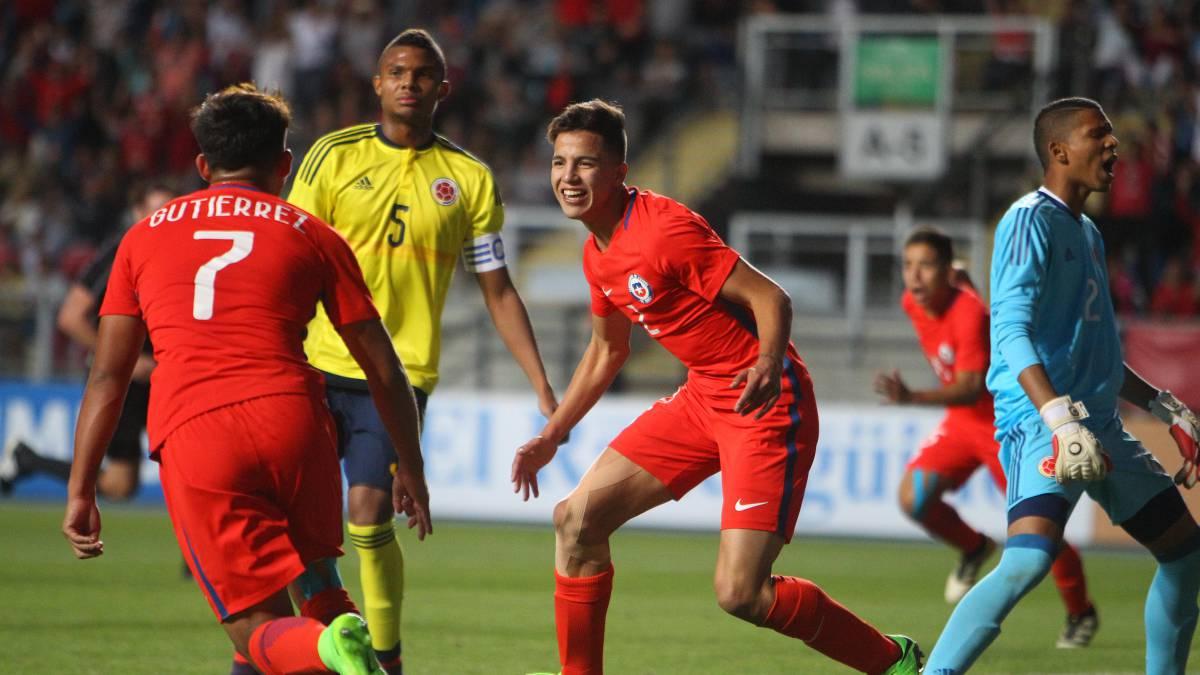 Chile derrota a Colombia y queda muy cerca del Mundial