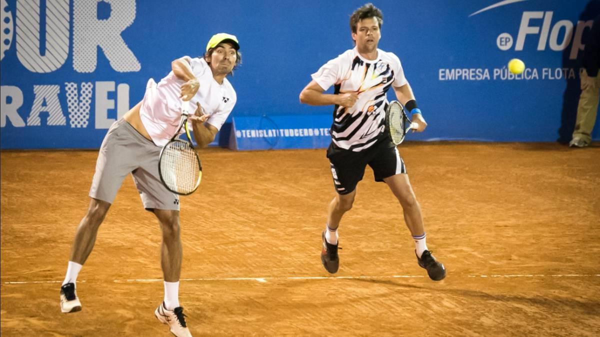 Peralta y Zeballos celebran el título en el ATP de Houston