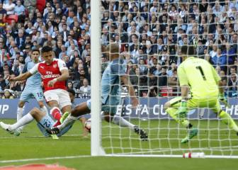 Arsenal 2 - Manchester City 1, FA Cup: crónica y resumen