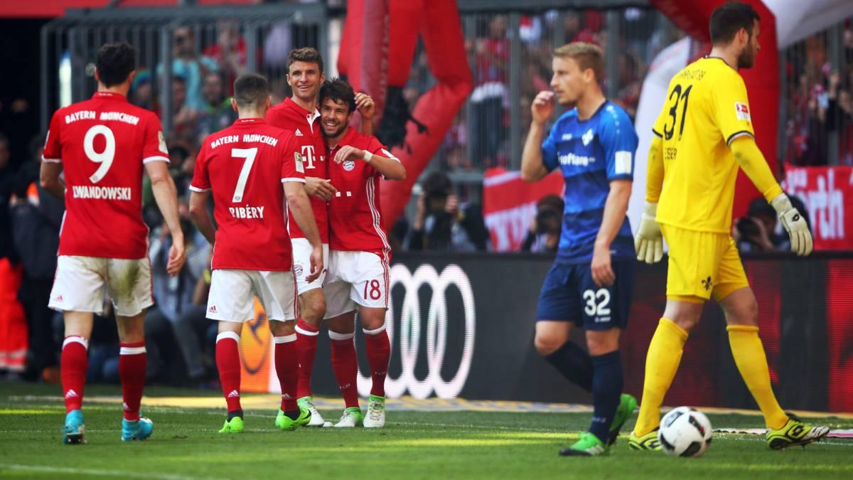 Bayern Munich saca triunfo sobre el Darmstadt 1-0