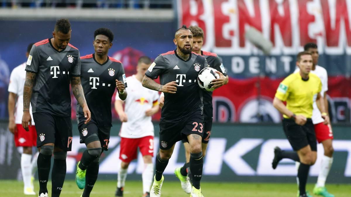 Bayern vence a Leipzig 5-4 en la Bundesliga