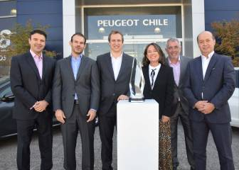 Peugeot Chile recibe importante distinción mundial
