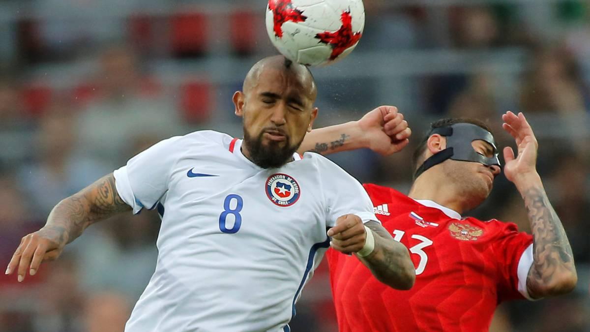 Chile empató 1-1 ante Rusia en el penúltimo amistoso previo a la Copa Confederaciones. Isla abrió la cuenta, pero Vasin empató el duelo en el Arena CSKA.