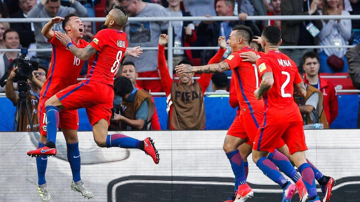 Portugal enfrenta a Chile en las semifinales de la Copa Confederaciones