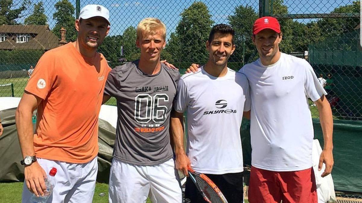 Chileno Podlipnik hace historia y avanza a cuartos de final de Wimbledon