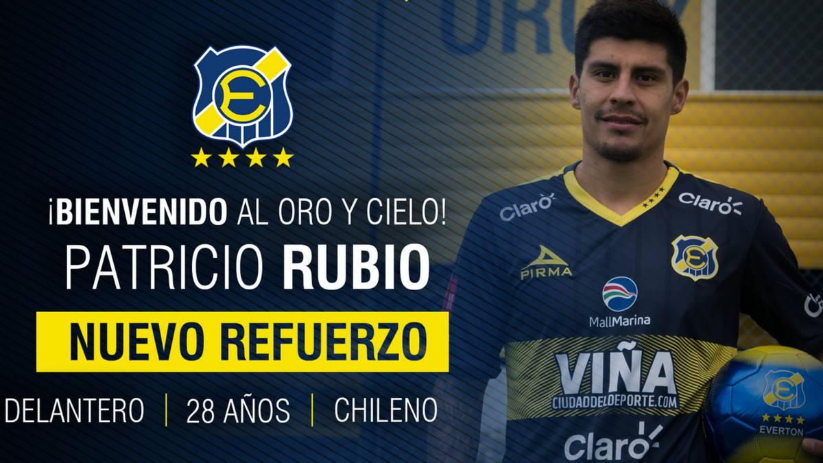Everton confirma fichaje de Patricio Rubio