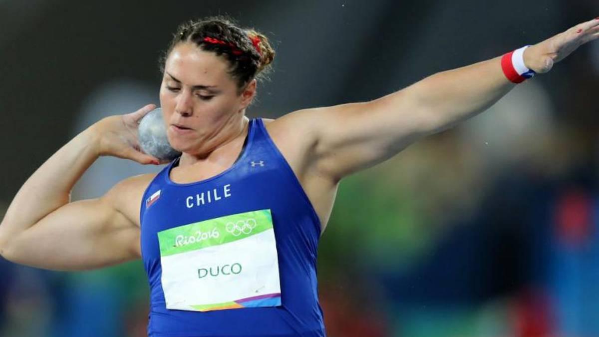 Natalia Duco logra la marca y estará en su quinto Mundial