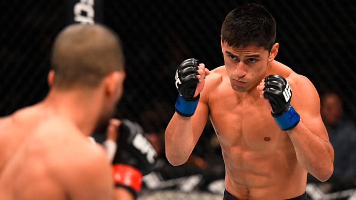 José Quiñonez venció a Diego Rivas en UFC Night 114