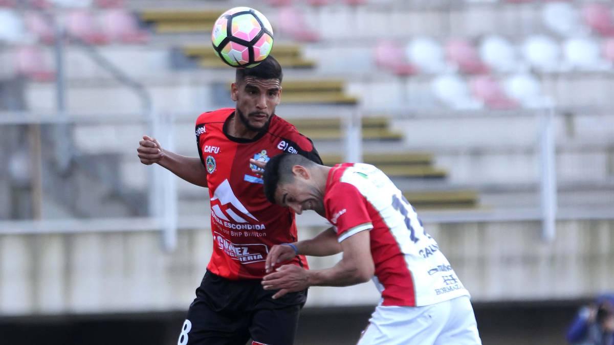 Antofagasta rescata empate ante Curicó de visita y sigue invicto