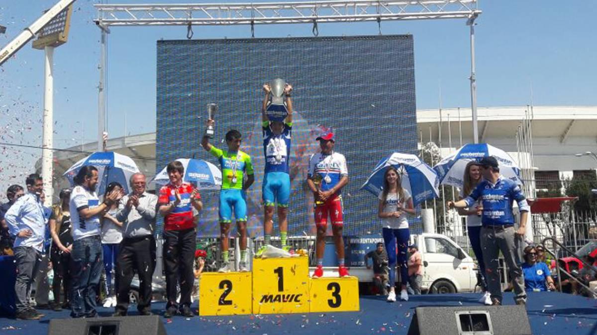 Cesar Paredes se corona campeón de la Vuelta Chile 2017